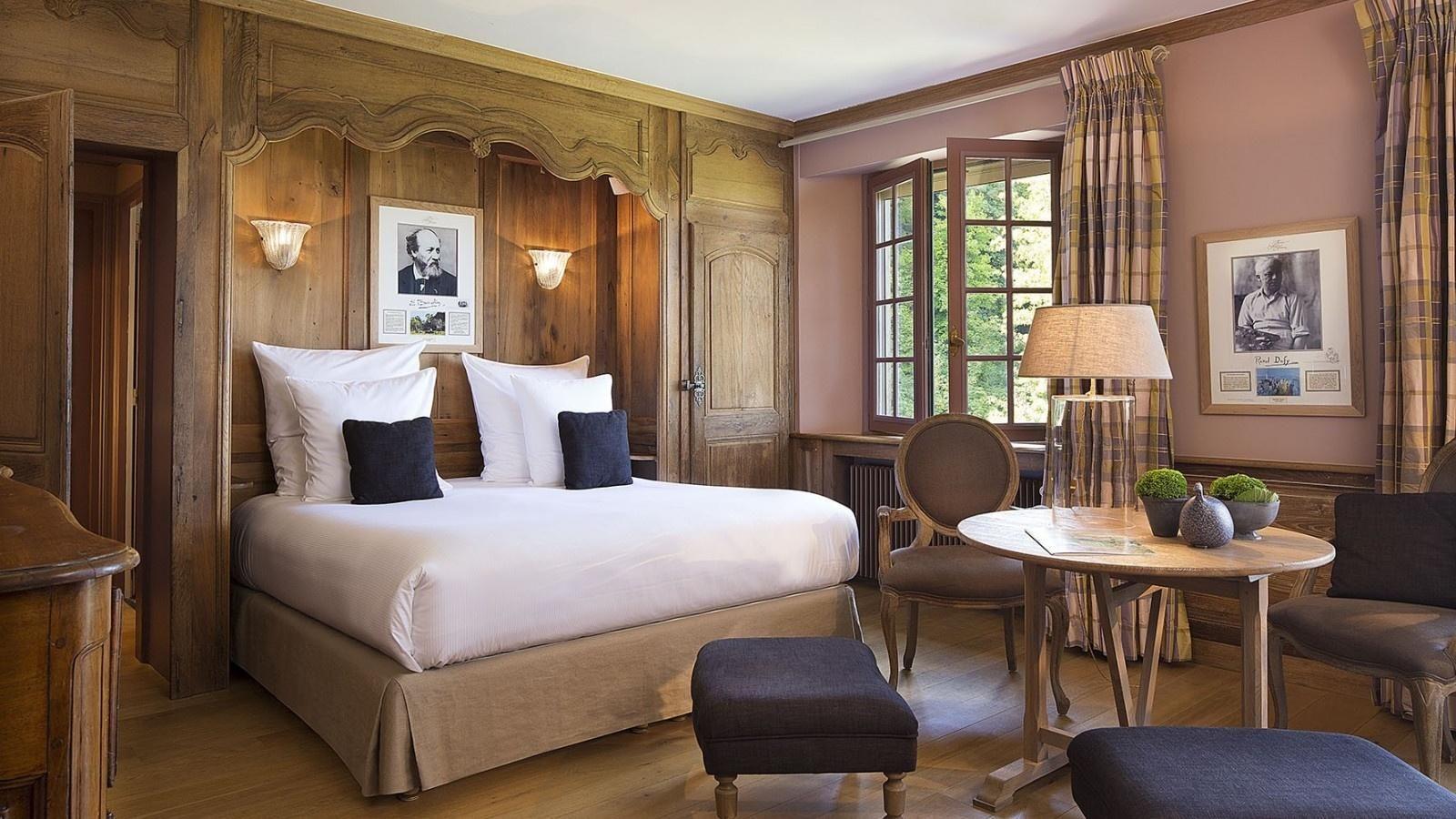 Hôtel La Ferme Saint Siméon - Chambre Double Deluxe