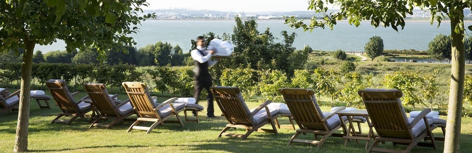 Hotel La Ferme Saint Simeon - Ambiente
