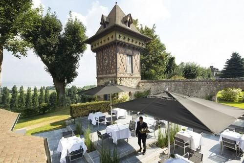 Ferme Saint Siméon – Terrasse