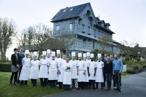 Ferme Saint Siméon – Kitchen team