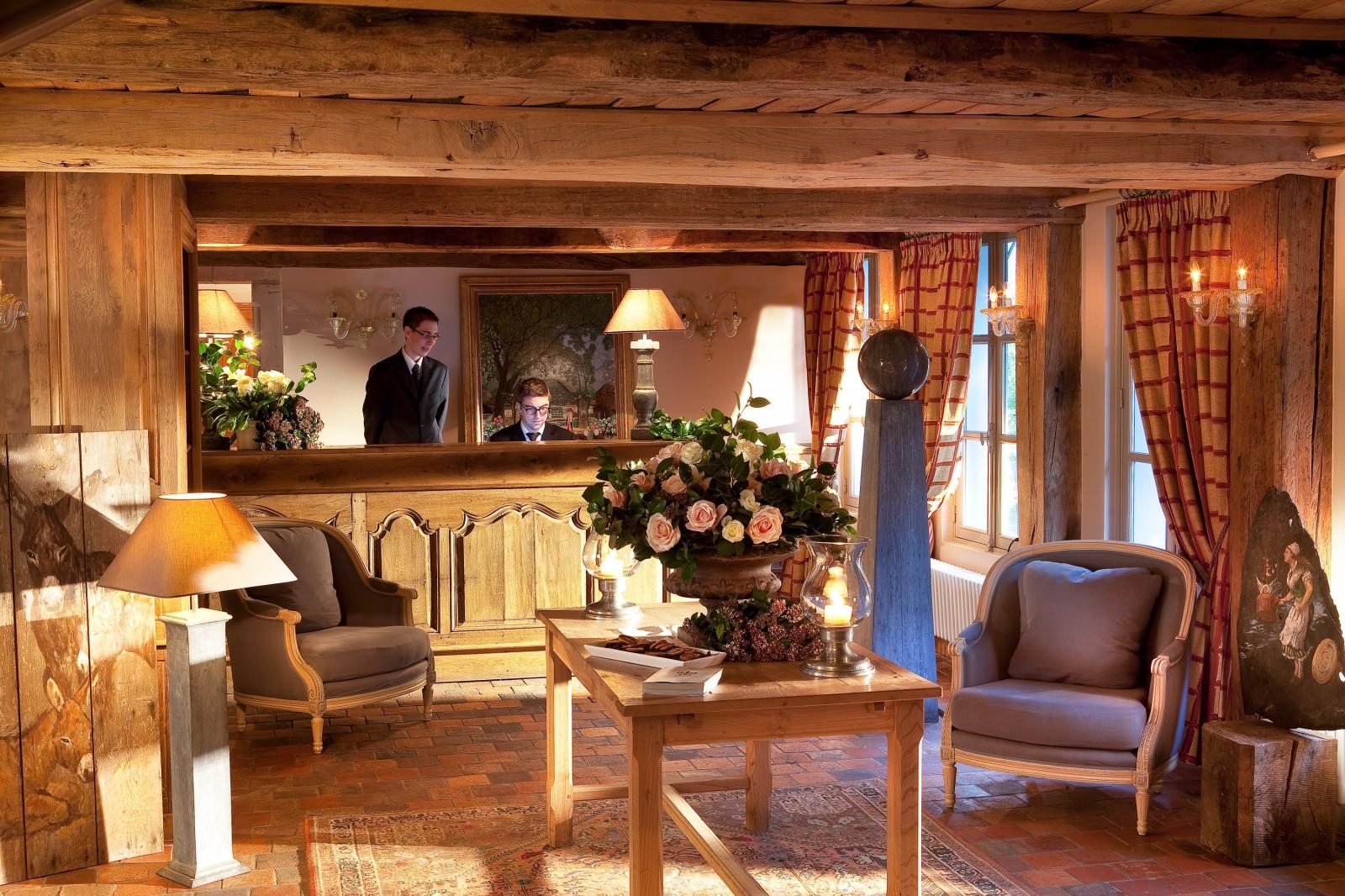 h tel la ferme saint sim on h tel de luxe en normandie galerie de photos. Black Bedroom Furniture Sets. Home Design Ideas